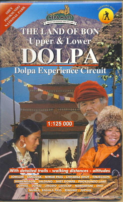 Dolpo Map himalaya Map house  y400