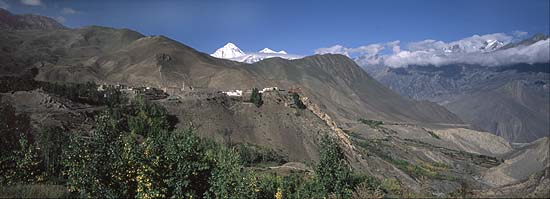 Photo Jahrkot Annapurna circuit  Nepal