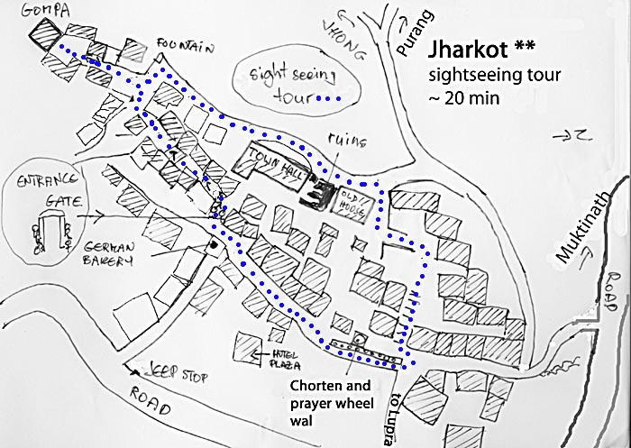 jharkot map new farbig